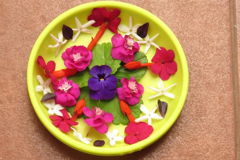 Creaciones con flores