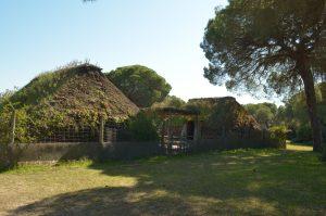 Chozas marismeñas de Doñana